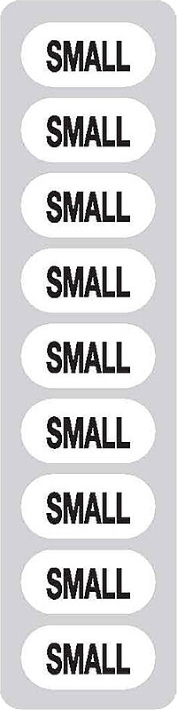Size Stickers - Stage Stores 1-1/4