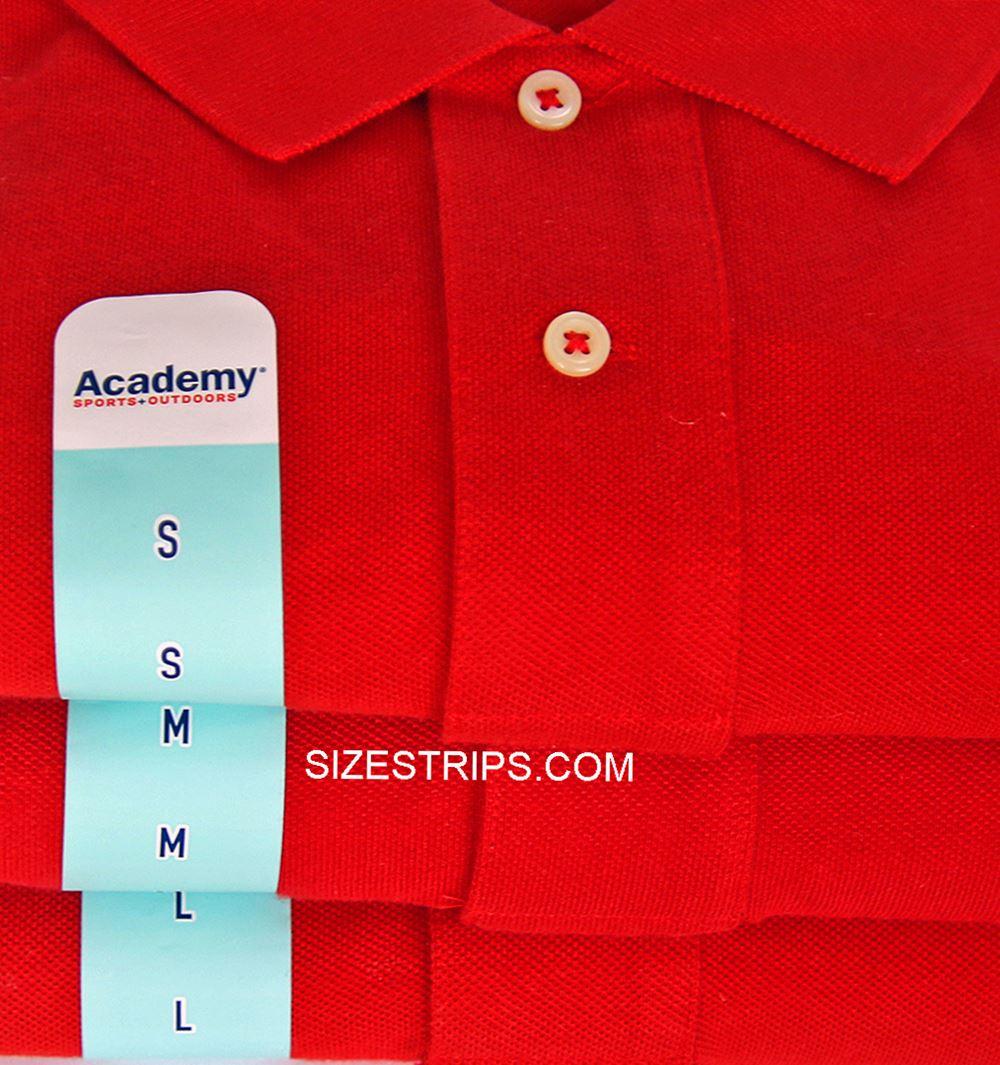 Size Stickers - Academy 1.5